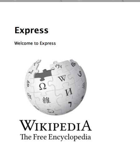 Wikipedia logo using data URI scheme